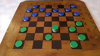 Настольные игры. Урок 28. Русские столбовые шашки