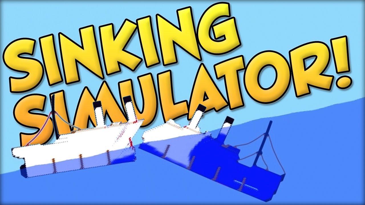 Sinking Simulator - Ship Sinking Sandbox Game