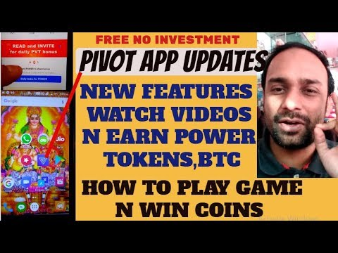 Pivot app new update,Features,Watch Video Add Earn Coins,How to Play Games,Binary Prediction,Up Down