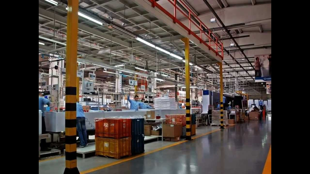 Indesit Company Manisa Refrigerator Factory Youtube