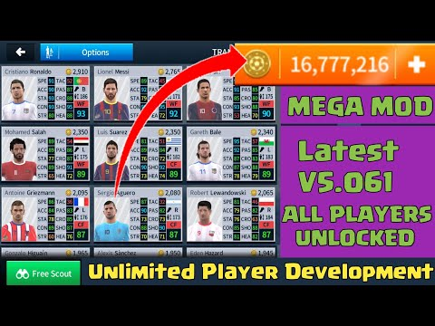 Download DLS 2018 V.5.061 Mega Mod🌠Unlocked All Players🌠Millions Of Coins