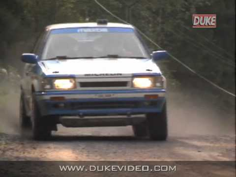 Duke DVD Archive - 1000 Lakes Rally 1988