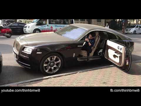 Chủ Nhân Nổi Tiếng và Luxury Car Rolls Royce Wraith Siêu Đẹp Trên Phố Hà Nội