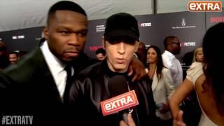 ExtraTV X Eminem: интервью на премьере фильма «Левша»