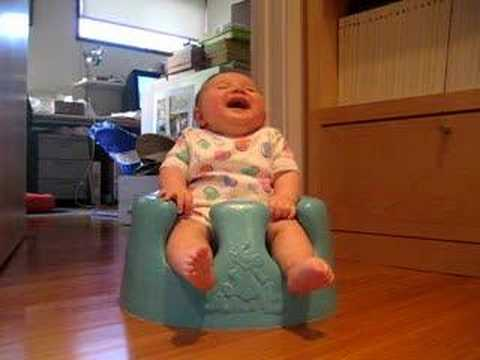 laughing baby....