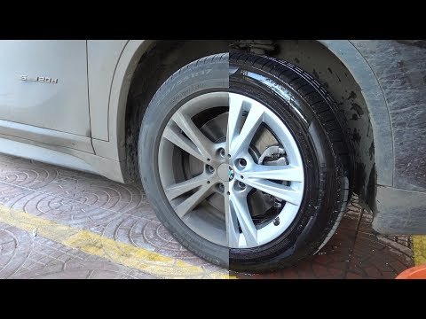 Cleaning 1000 Kms driven Alloy Wheels | SONAX products | Autozeel.com