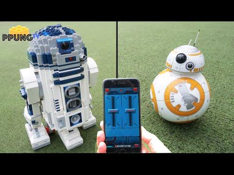Lego star wars 10225 rc motorized r2d2 sphero bb 8 by youtube - Lego starwars r2d2 ...