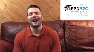 Video Testimonial for NerdPRO Solutions Coursework service