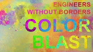 Engineers Without Borders - Color Blast 5k Run 2014