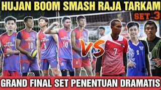 HUJAN B00M SMASH PARTAI FINAL | OGI,AJI,RAHMAT,SIMO,DKK VS SODIQ,TATANG,KOWOR Volleyball Indonesia