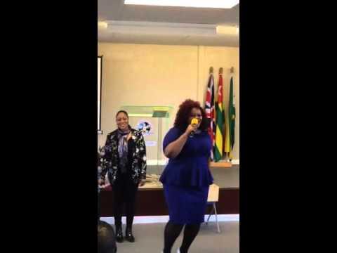Olori Kokoro...Jamaican Singing in African