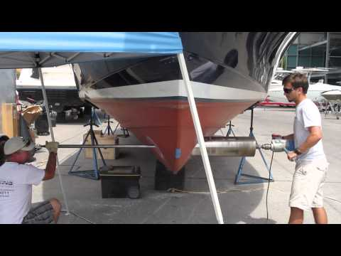Docking By Control Bow Thruster Installation