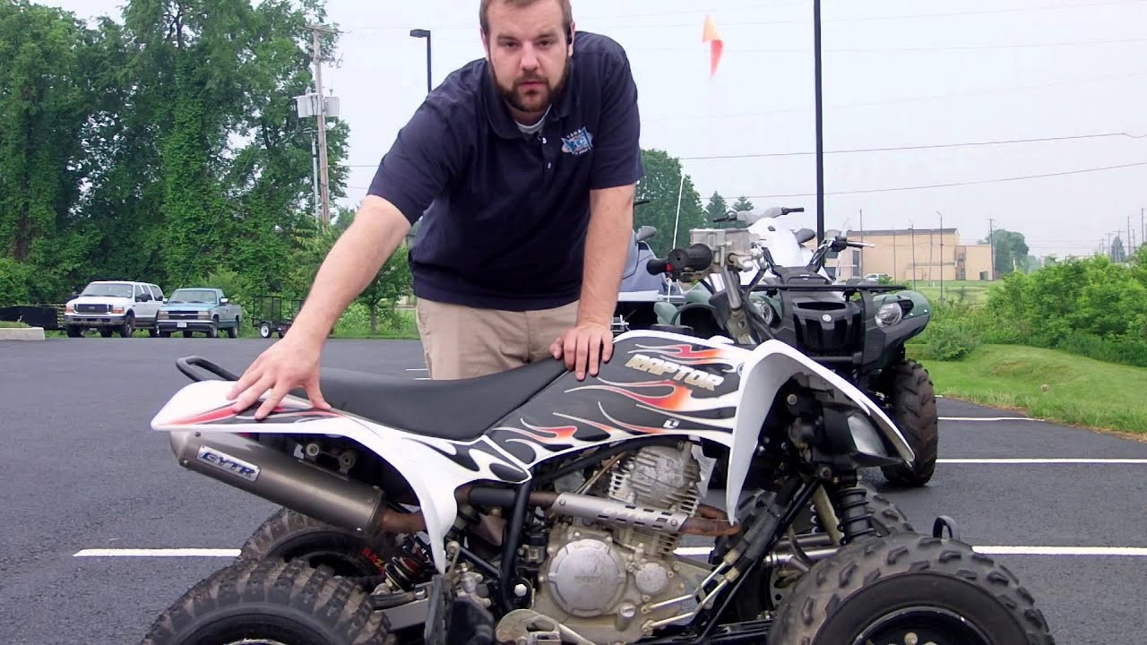 2010 yamaha raptor 250 atv youtube. Black Bedroom Furniture Sets. Home Design Ideas