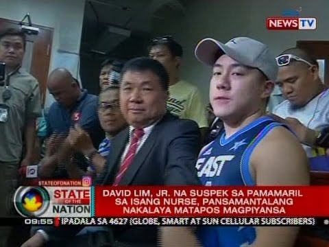 David Lim, Jr. na suspek sa pamamaril sa isang nurse, pansamantalang nakalaya matapos magpiyansa
