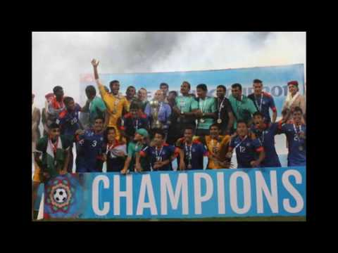 Indian football at SAFF cup