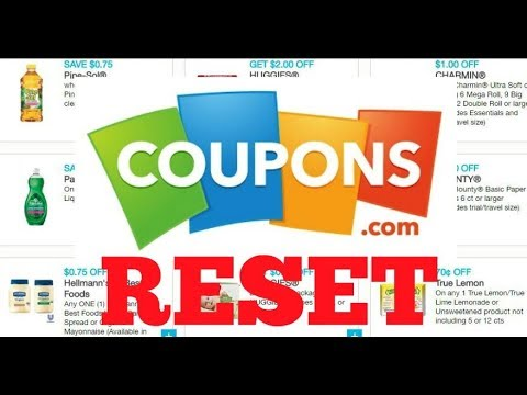 Coupons RESET And New Coupons To Print October 15th 2019