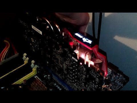 Graphics card catches fire - GTX 970