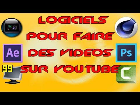 Quels logiciels utiliser pour faire des vidéos sur Youtube