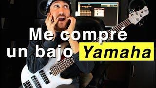 ¡Me compré un bajo Yamaha de 5 cuerdas! Esto pasó...