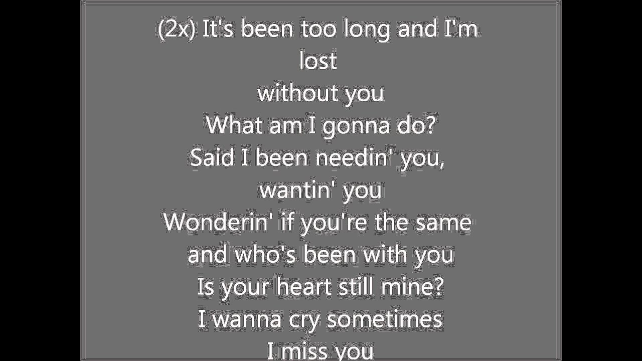 I Miss You - Avril Lavigne with lyrics - YouTube