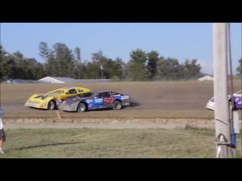 2012 Bemidji Speedway WISSOTA Super Stocks Heat Race Infield