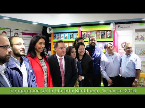 Remodelación Librería Santillana