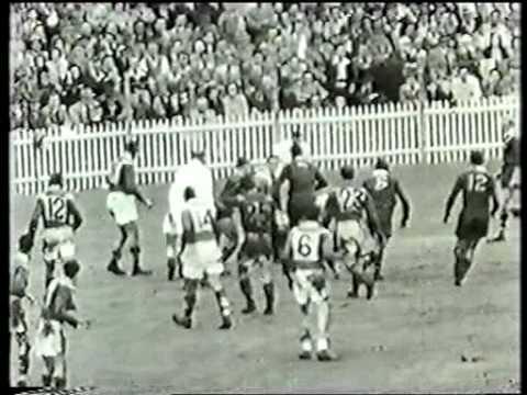 1951 Rugby League test 1 - Australia v France