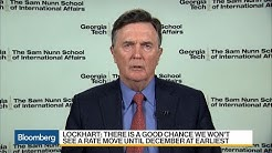 Lockhart Says Fed Rate Action Unlikely in Next Few Months