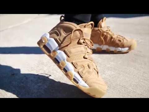 Nike More Uptempo Wheat
