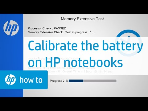 Calibrate the Battery on HP Notebooks | HP Computers | @HPSupport