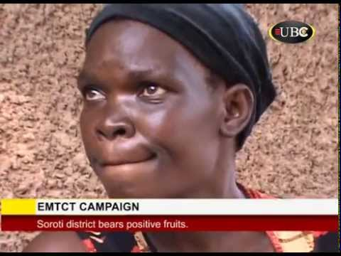 EMTCT Campaign bears positive fruits in Soroti district