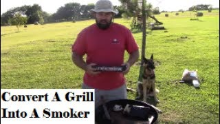 Turn Any Grill Into A Smoker Within Seconds