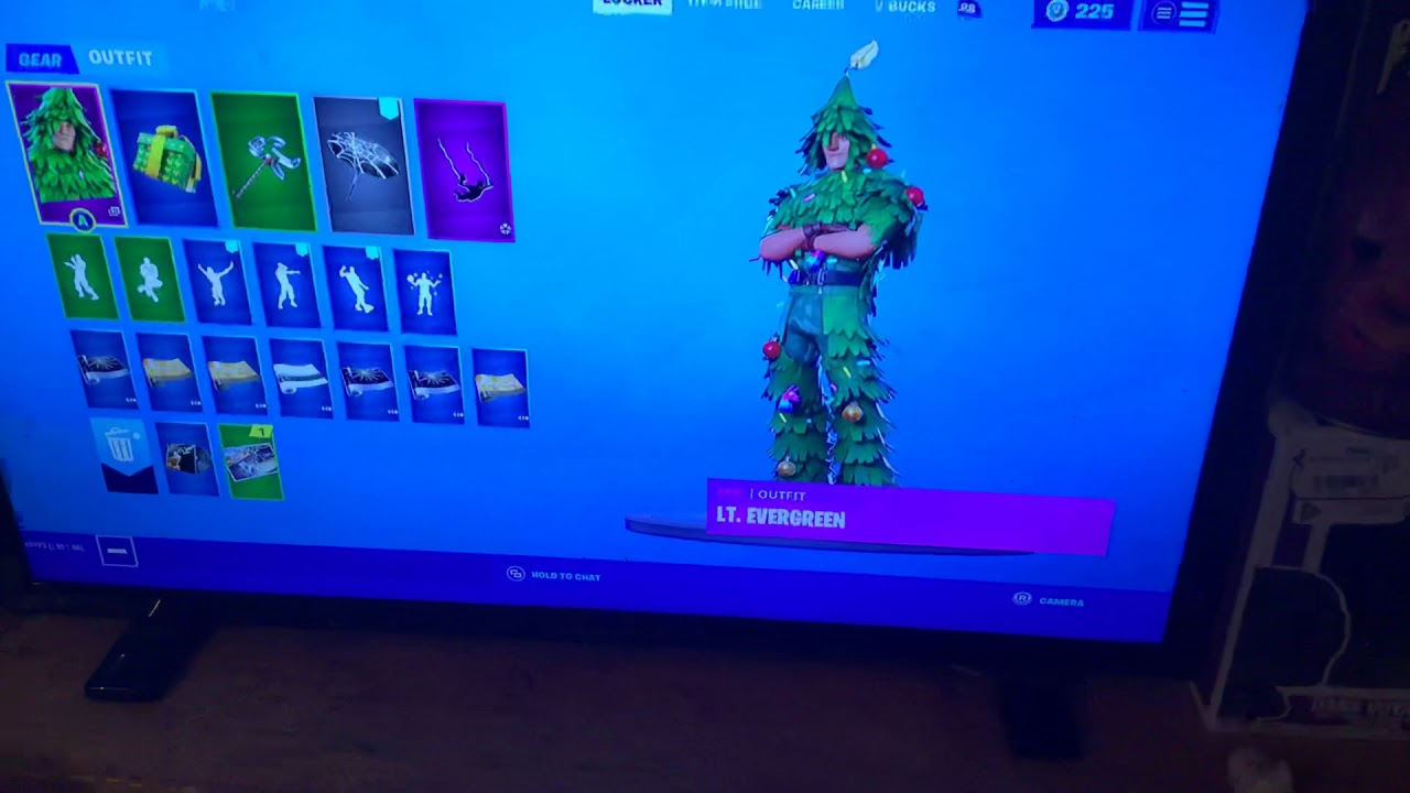 How to unlock LT. EVERGREEN skin and re gifted back BLING ...