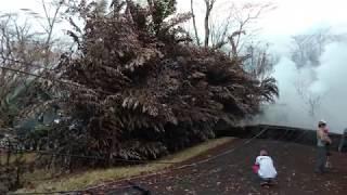 Leilani Estates Hawaii Lava Flow Kahukai Revisit 5/20/2018