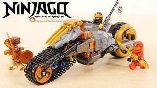 Đồ Chơi Xếp Hình LEGO NINJAGO Lắp Ráp Xe Địa Hình Của Cole 70672
