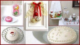 Decoração de Natal Para Banheiro – DIY decoração Natalina