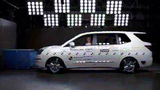 ANCAP CRASH TEST: Ssangyong Stavic (from 2013) - 4 star ANCAP safety rating