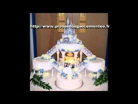 support presentoir gateau piece montee mariage fete youtube - Presentoir Piece Montee Mariage