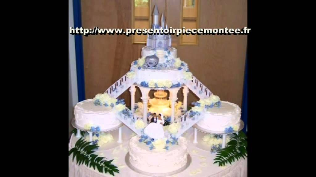 support presentoir gateau piece montee mariage fete youtube. Black Bedroom Furniture Sets. Home Design Ideas