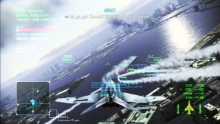 Tokyo Martial Law: CO-OP Mission [Ace Combat Infinity Beta: JP Version]