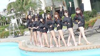 G☆Girls初の沖縄遠征に密着!沖縄宜野湾市と人気リゾートホテル「ラグナ...