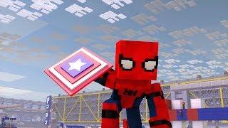 Человек-Паук Minecraft: Возвращение домой - первый трейлер