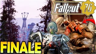 WATOGA CITY + BROTHERHOOD of STEEL + POWER ARMOR - Fallout 76 Gameplay Part 6 ( FINALE / ENDING )