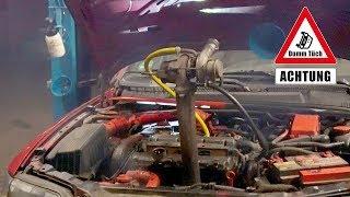 Turbo selbst nachgerüstet - Gartenschlauch als Ölleitung | Dumm Tüch Opelix