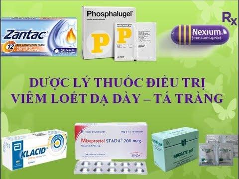 [Pharmog SS1 – Tập 15] – Dược lý các thuốc điều trị viêm loét dạ dày tá tràng