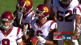 Michael Pittman Jr. (USC WR) vs BYU (2019)