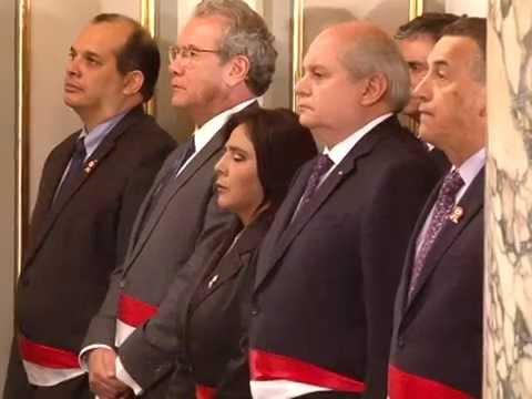 Ana jara vel squez jur como presidenta del consejo de for Clausula suelo consejo de ministros