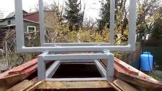 Капитальный ремонт крыши летнего душа