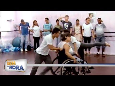 Projeto da aula de dança para alunos da Apae