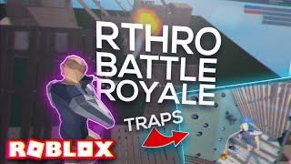 *NEW* RTHRO/ANTHRO BATTLE ROYALE with BETTER BUILDING, TRAPS, & BOUNCERS in ROBLOX! (Strucid)